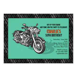 Motorcycle Invitation