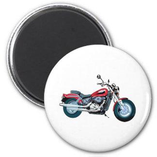 Motorcycle Fridge Magnet