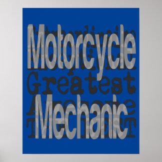 Motorcycle Mechanic Extraordinaire Poster