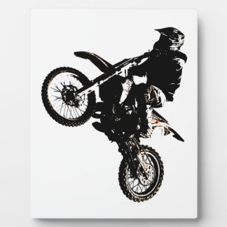 Motorcycle Motocross Plaques