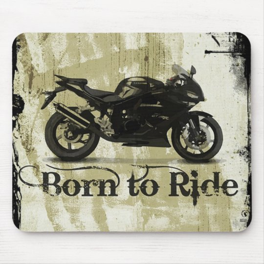 Motorcycle Mouse Mat