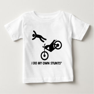 Motorcycle My Own Stunts Baby T-Shirt