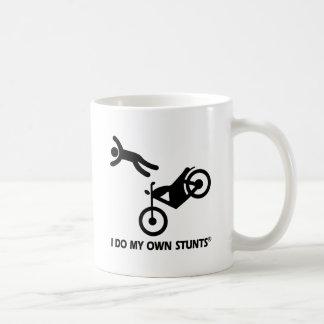 Motorcycle My Own Stunts Basic White Mug