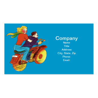 Motorcycle Pin-Up Pack Of Standard Business Cards