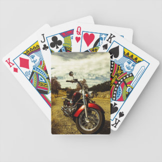Motorcycle Poker Cards