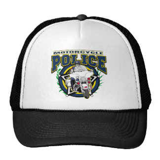 Motorcycle Police Cap