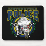 Motorcycle Police Mouse Pad