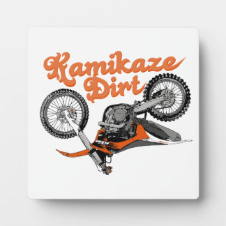 Motorcycle race display plaques
