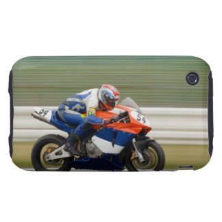Motorcycle Race iPhone 3 Tough Covers