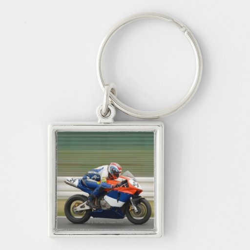 Motorcycle Race Keychains