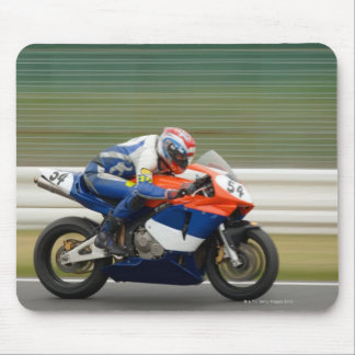 Motorcycle Race Mouse Mat