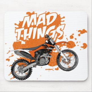 Motorcycle race mousepad