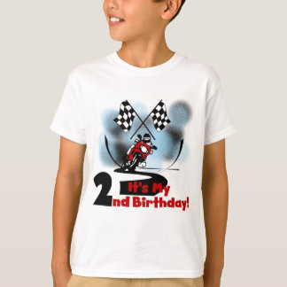Motorcycle Racing 2nd Birthday Tshirts and Gifts