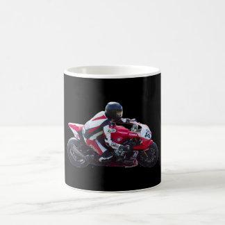 Motorcycle racing mugs