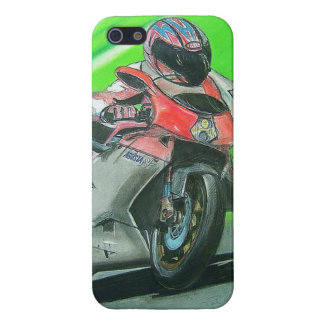 Motorcycle racing themed iPhone case Case For The iPhone 5