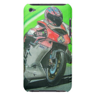 Motorcycle racing themed iPod case Barely There iPod Case