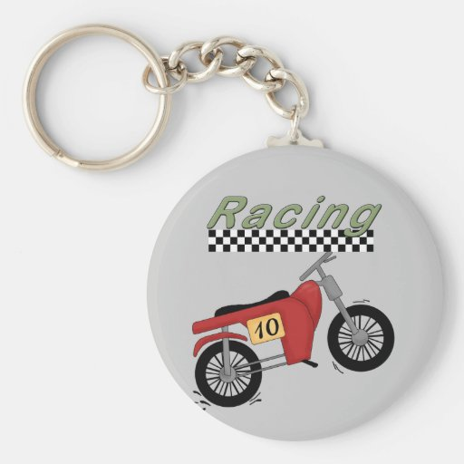 Motorcycle Racing Tshirts and Gifts Keychains