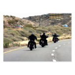 Motorcycle Road Trip - Biker Trio Large Business Cards (Pack Of 100)
