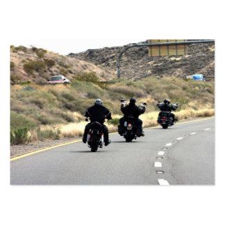 Motorcycle Road Trip - Biker Trio Business Cards