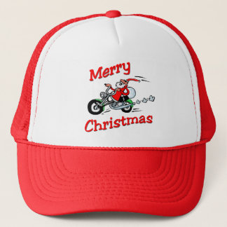 Motorcycle Santa Hat