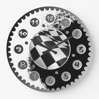 MOTORCYCLE SPROCKET WALL CLOCKS. CLOCK