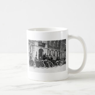 Motorcycle Squad early 1900s Mugs