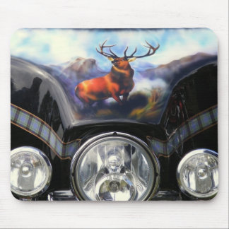Motorcycle Stag Mouse Pad