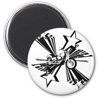 Motorcycle Stars Magnet