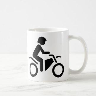 Motorcycle Symbol Basic White Mug