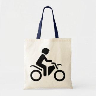 Motorcycle Symbol Budget Tote Bag