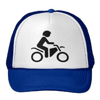 Motorcycle Symbol Cap