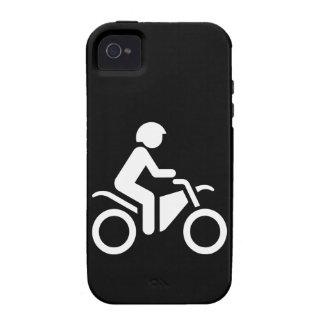 Motorcycle Symbol Vibe iPhone 4 Case