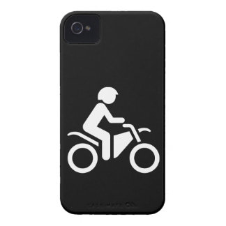 Motorcycle Symbol Case-Mate iPhone 4 Case