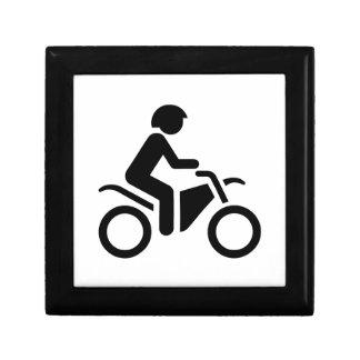 Motorcycle Symbol Trinket Box