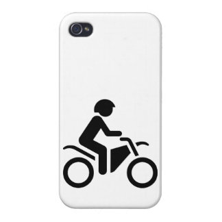 Motorcycle Symbol iPhone 4/4S Cover