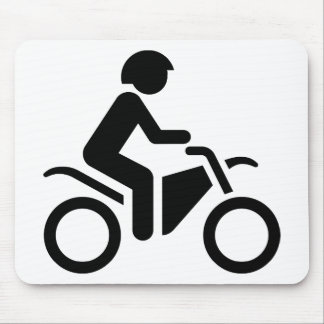 Motorcycle Symbol Mouse Pad