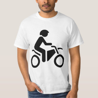 Motorcycle Symbol T Shirts