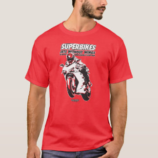 Motorcycle T-Shirt - Superbikes