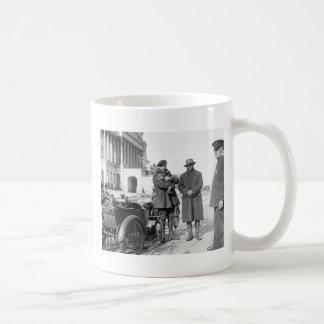Motorcycle with Sidecar, 1918 Mug