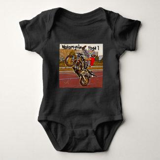 Motorcycle Yoga 1 Baby Bodysuit