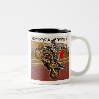 Motorcycle Yoga 1 Mug