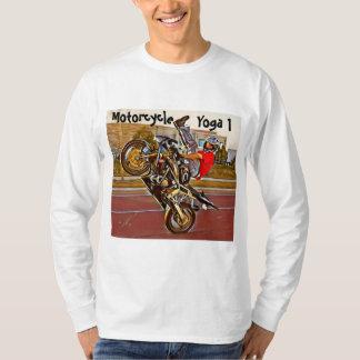 Motorcycle Yoga Long Sleeve T-shirt