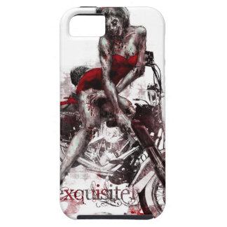 Motorcycle Zombie Pinup iPhone Case