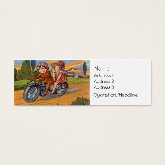 Motorcycling Business Card