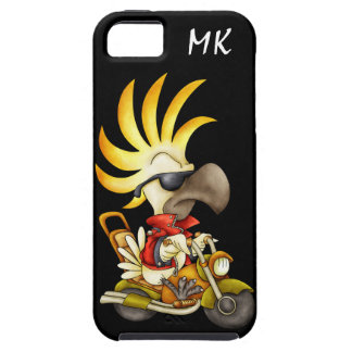 Motorcycling Cockatoo - SRF iPhone 5 Covers