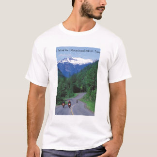 Motorcycling the scenic Selkirk Loop T-Shirt