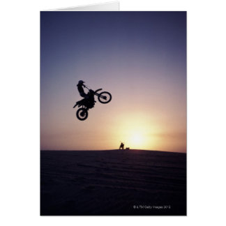 Motorcyclist Greeting Card