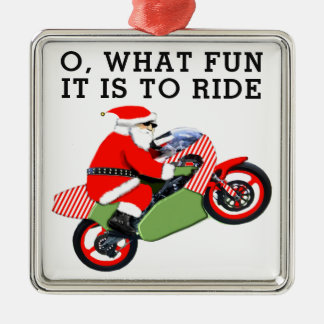motorcyclist collectible christmas ornament