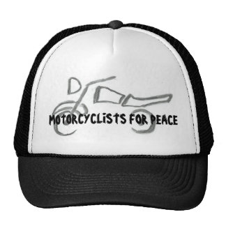 Motorcyclists For Peace Cap