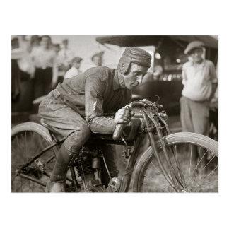 Motorcyle Racer, 1922 Postcards